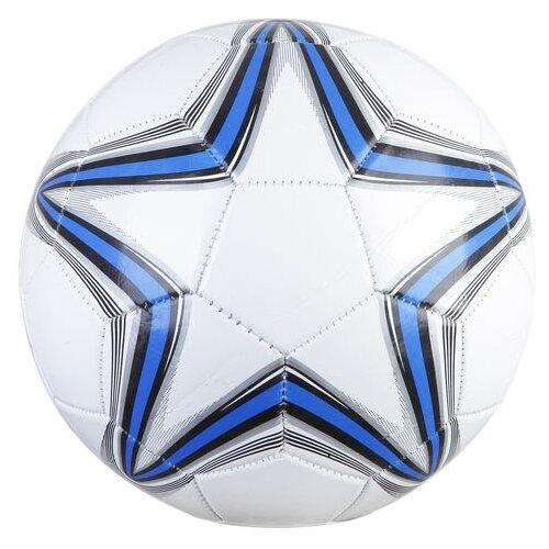 Мяч футбольный Гратвест 251 г, №5, PVC, глянец, 1 слой (Т73812)