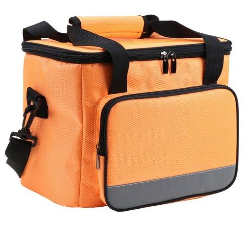 BRADEX Сумка-холодильник на ремне, 12 л оранжевый 12 л