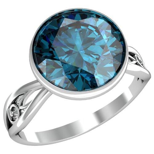Фото - Приволжский Ювелир Кольцо с 1 алпанитом из серебра 271078-FA77, размер 18 приволжский ювелир кольцо с 1 алпанитом из серебра с позолотой 272158 fa77 размер 18