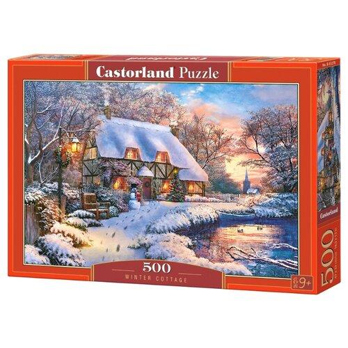 Купить Пазл Castorland Winter Cottage (B-53278), 500 дет., Пазлы