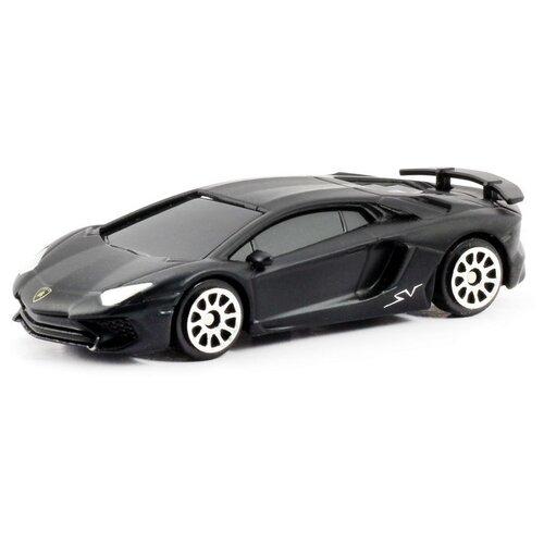 Купить Легковой автомобиль RMZ City Lamborghini Aventador LP 750-4 Superveloce (344994SM) 1:64 черный, Машинки и техника