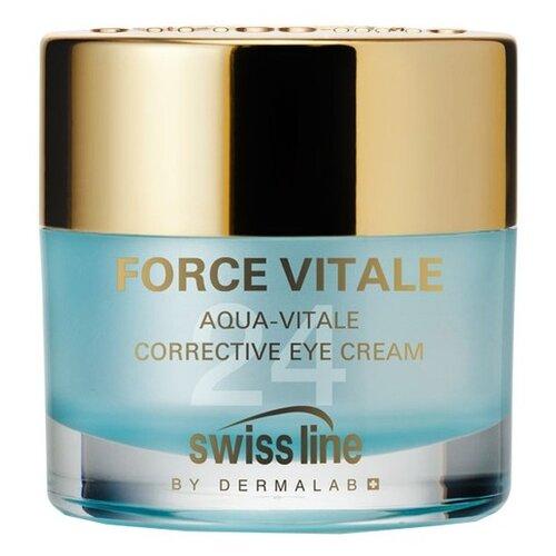 Swiss Line Корректирующий крем для глаз Aqua-Vitale Corrective Eye Cream 15 мл holy land корректирующий крем dermalight dark circle corrective eye cream 15 мл