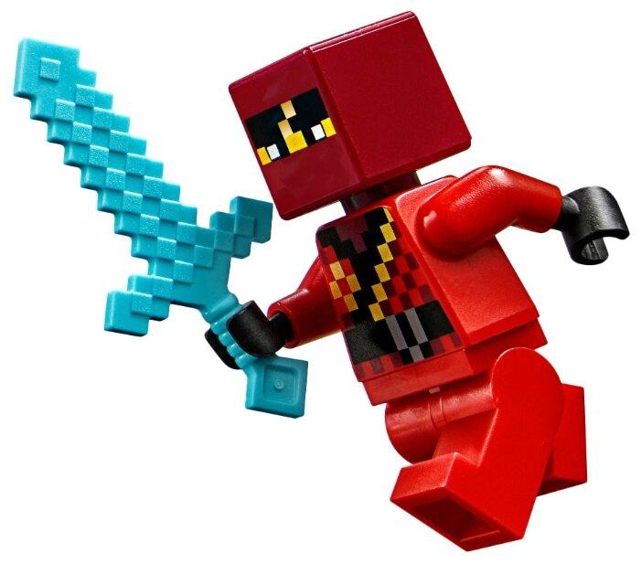 Конструктор LEGO Minecraft 21160 Патруль разбойников