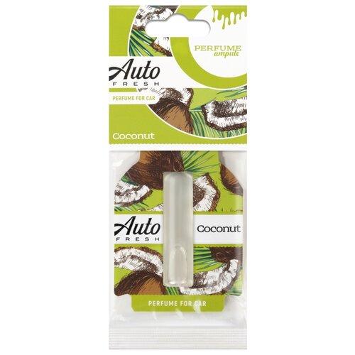 Auto Fresh Ароматизатор для автомобиля Perfume Ampule Coconut hempz fresh coconut