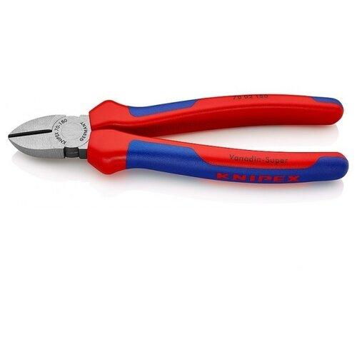 Бокорезы Knipex KN-7002180 180 мм синий/красный knipex kn 7401160 силовые бокорезы red