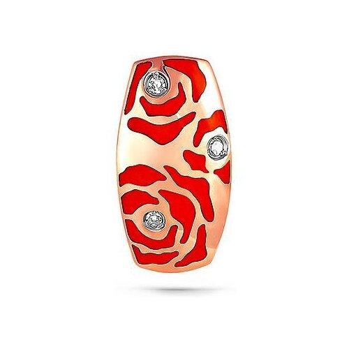 KABAROVSKY Подвеска Цветы с 3 бриллиантами из красного золота 13-0812-1018