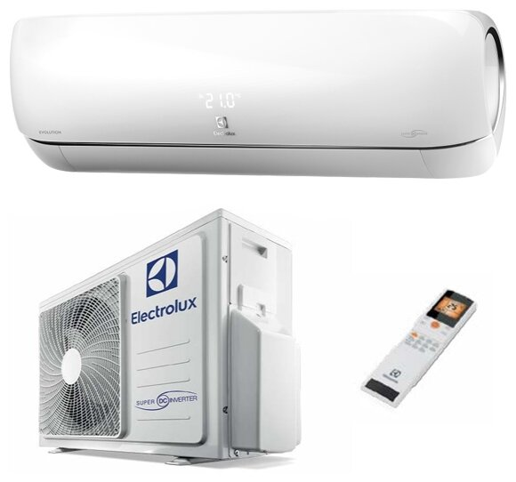 Настенная сплит-система Electrolux EACS/I-11HEV/N3 — купить по выгодной цене на Яндекс.Маркете