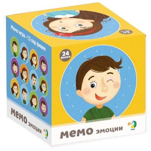 Купить Настольная игра Dodo Мемо Эмоции, Настольные игры