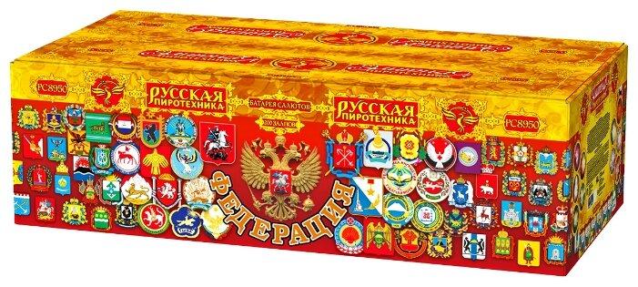 "Фейерверк, батарея салютов Федерация (1.2"" x 200)"