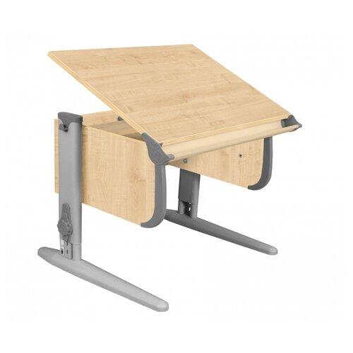 Стол ДЭМИ СУТ-24 75x55 см клен/серый/серый, Парты и столы  - купить со скидкой