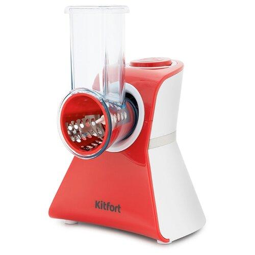 Измельчитель Kitfort КТ-1382 красный/белый