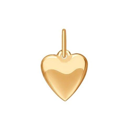 SOKOLOV Подвеска «Сердце» из золота 035184