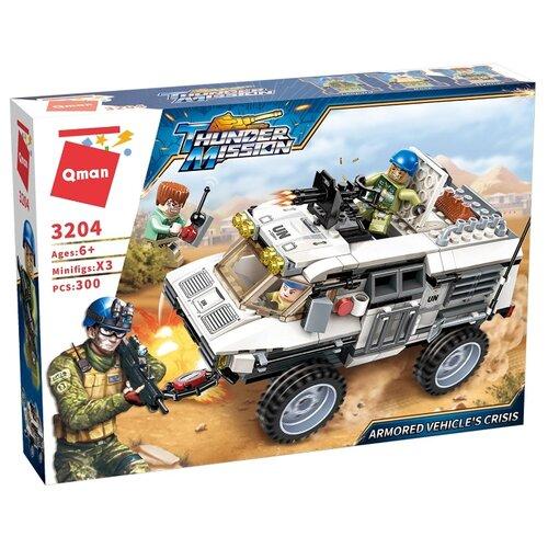 Купить Конструктор Qman Thunder Mission 3204 Броневик, Конструкторы