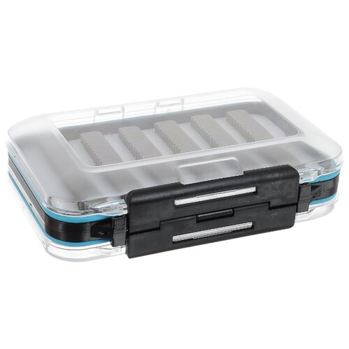 Коробка для приманок для рыбалки Salmo Fly Special 1501-10 15х10х5.2 см бесцветный/черный