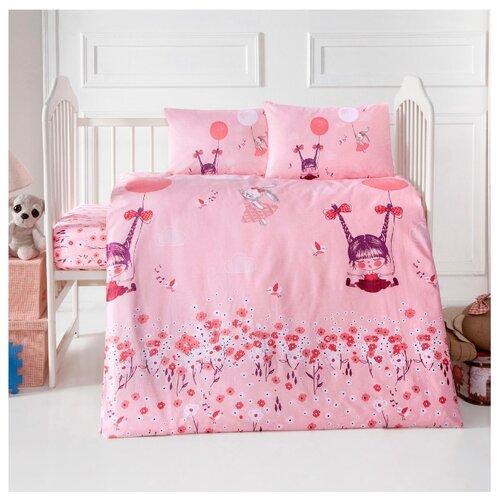 Arya комплект в кроватку Pinky Girl (4 предмета) розовый полотенца arya комплект из 6 ти полотенец arya birdy 30 30 см бело розовый