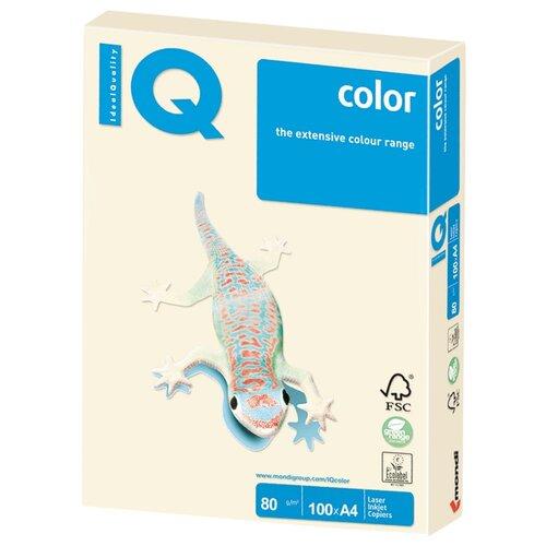 Фото - Бумага IQ color А4 Color 80 г/м2, 100 лист. кремовый CR20 1 шт. бумага a4 250 шт iq color cr20