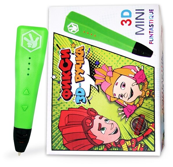 3D-ручка Funtastique FIXI MINI зеленый фото 1