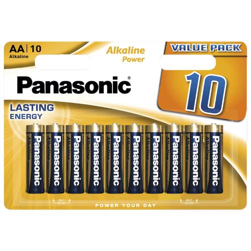 Фото - Батарейка Panasonic Alkaline Power AA/LR6, 10 шт. батарейка smartbuy aa lr6 ultra alkaline 40 шт