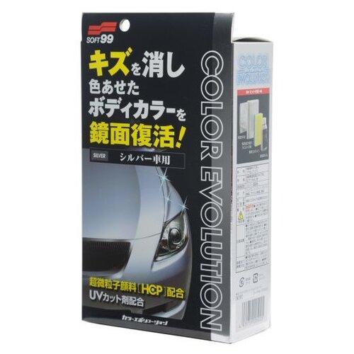 цена на Воск для автомобиля Soft99 жидкий Color Evolution Silver для серебристых оттенков кузова 0.1 л