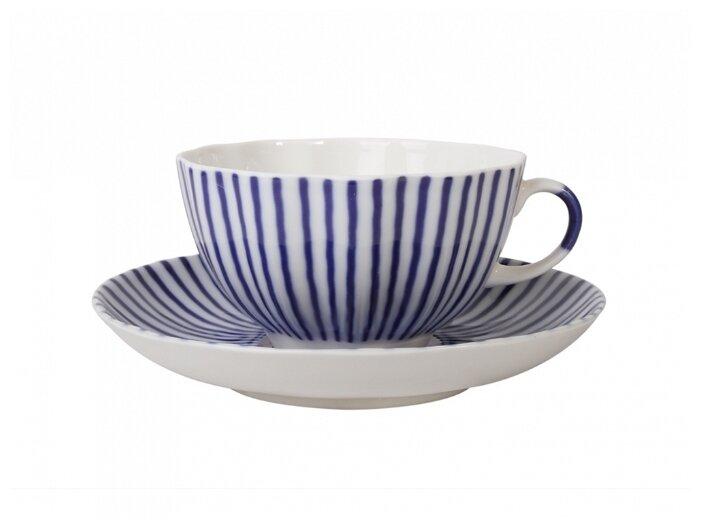 Императорский фарфоровый завод Чашка чайная с блюдцем