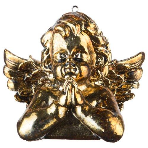 Набор елочных игрушек KARLSBACH 08744, золотой