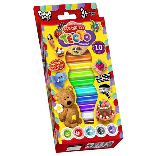 Купить Масса для лепки Danko Toys Master Do 10 цветов (TMD-02-01), Пластилин и масса для лепки