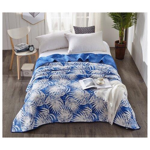 Фото - Покрывало Tango Patchwork 200x230 см, синий/белый покрывало umbritex покрывало kilim3 цвет белый 180х280 см