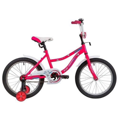 Детский велосипед Novatrack Neptune 18 (2020) розовый (требует финальной сборки) детский велосипед novatrack vector 18 2019 серебристый требует финальной сборки