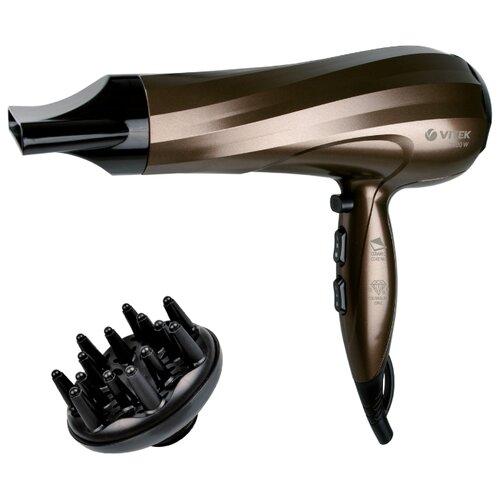 цена на Фен VITEK VT-2298 BN коричневый