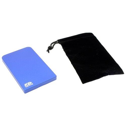 Корпус для HDD/SSD AGESTAR SUB2O1 синий