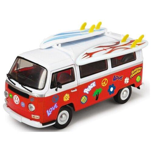 Купить Микроавтобус Dickie Toys Volkswagen Van для серферов (3776001) 32 см, Машинки и техника