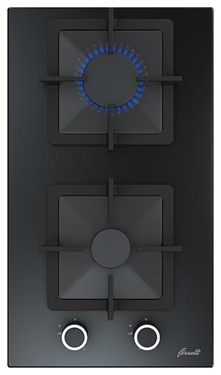 Газовая варочная панель Fornelli PGT 30 Calore BL