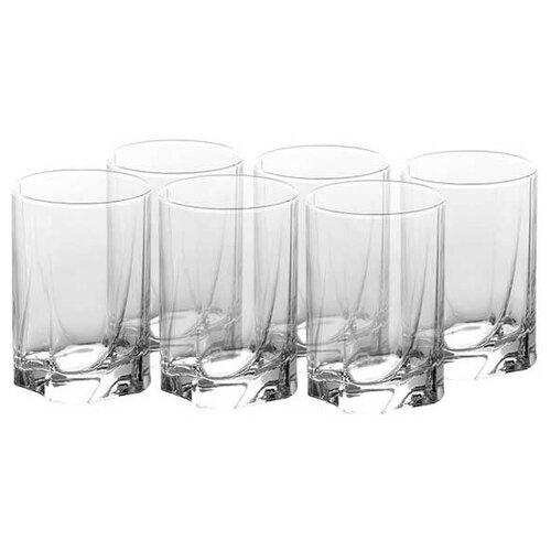 Pasabahce Набор стаканов Luna 255мл 6 шт прозрачный набор стаканов для виски pasabahce luna 368 мл 6 шт
