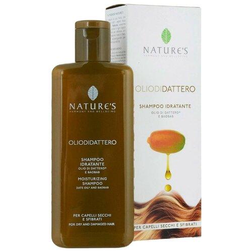 Фото - Nature's шампунь Oliodidattero Idratante увлажняющий для сухих и поврежденных волос, 200 мл активное мумиё увлажняющий шампунь для поврежденных волос 330 мл