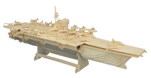 """Купить Сборная деревянная модель """"Авианосец"""" по низкой цене с доставкой из Яндекс.Маркета"""