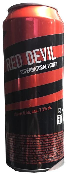 Напиток слабоалкогольный Red Devil Supernatural Power, 0,5 л