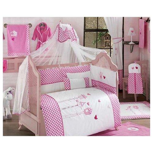 Купить Комплект из 6 предметов серии Lovely Birds (Pink), Kidboo, Постельное белье и комплекты