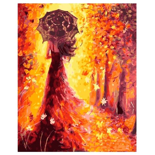 ВанГогВоМне Картина по номерам Осенний вальс, 40х50 см (ZX 21314) вангогвомне картина по номерам осенний вальс 40х50 см zx 21314