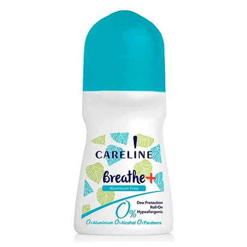 Careline дезодорант, ролик, Breathe Zero, 75 мл