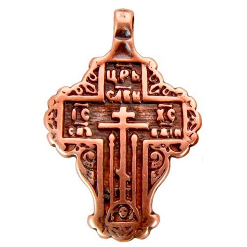 Мастерская Алёшиных Крест Царь славы №4, медь