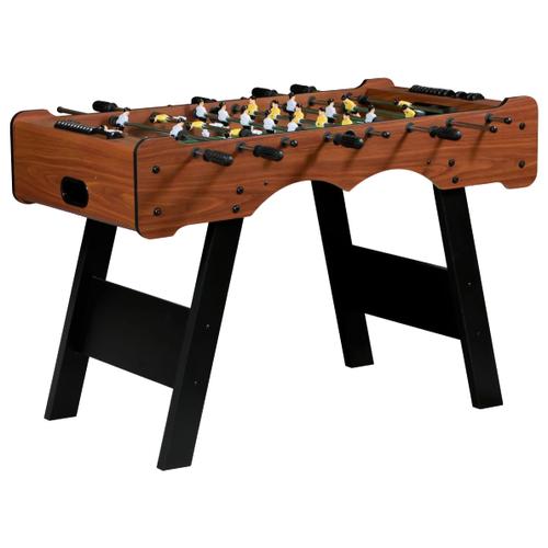 Игровой стол для футбола Weekend Stuttgart коричневый игровой стол для футбола weekend stuttgart венге