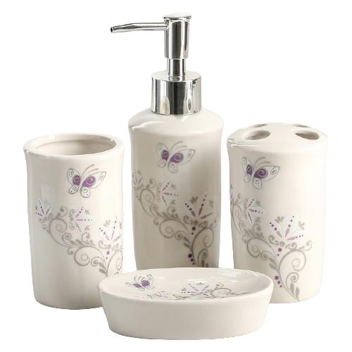 Фото - Набор для ванной Доляна Изящество 870330, белый набор для ванной доляна грация 2698471 персиковый