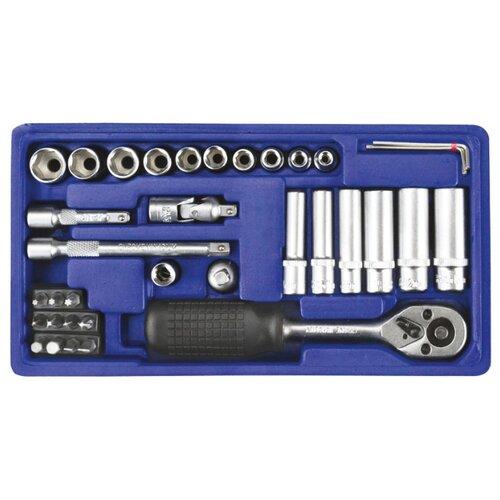 Набор автомобильных инструментов ALCA (37 предм.) 413100 синий набор автомобильных инструментов союз 48 предм 1045 20 s48c синий