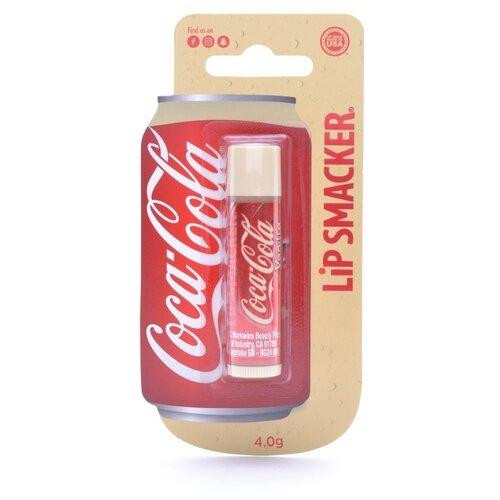 Lip Smacker Бальзам для губ с ароматом Coca-Cola vanilla lip smacker бальзам для губ sprite