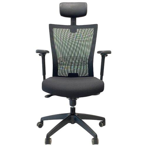 Эргономичное компьютерное кресло Schairs AIRE-111B GREY