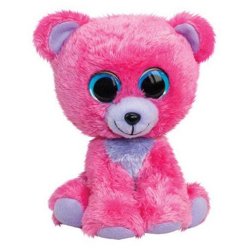 Мягкая игрушка Lumo Stars Мишка Raspberry 15 см