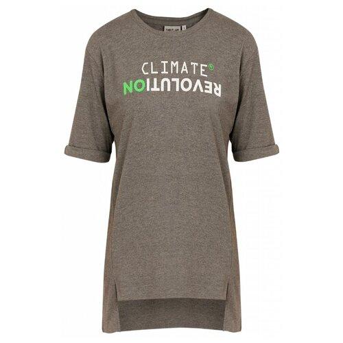 Футболка FiNN FLARE B20-32044M размер 2XL, серый меланж футболка finn flare b20 32068m размер 2xl серый меланж
