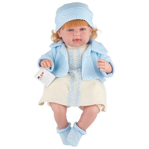 Интерактивный пупс Arias Elegance в голубом, 45 см, Т11136 интерактивный пупс arias elegance в голубой одежде 45 см т11134