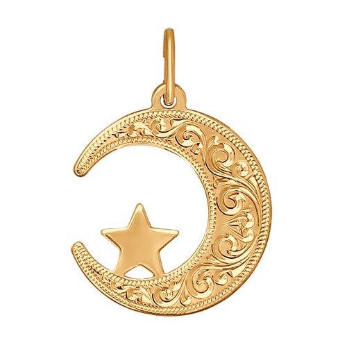 SOKOLOV Подвеска мусульманская из золота с гравировкой 032823