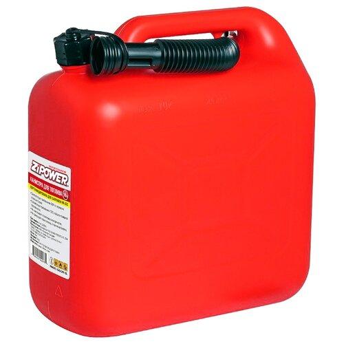 Канистра ZiPOWER PM4293, 10 л, красный канистра для топлива zipower pm4294